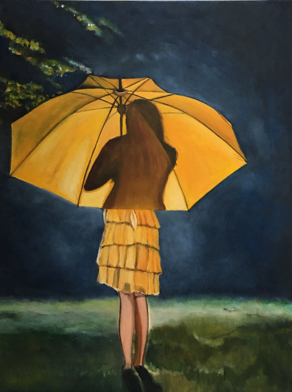 Yellow umbrella