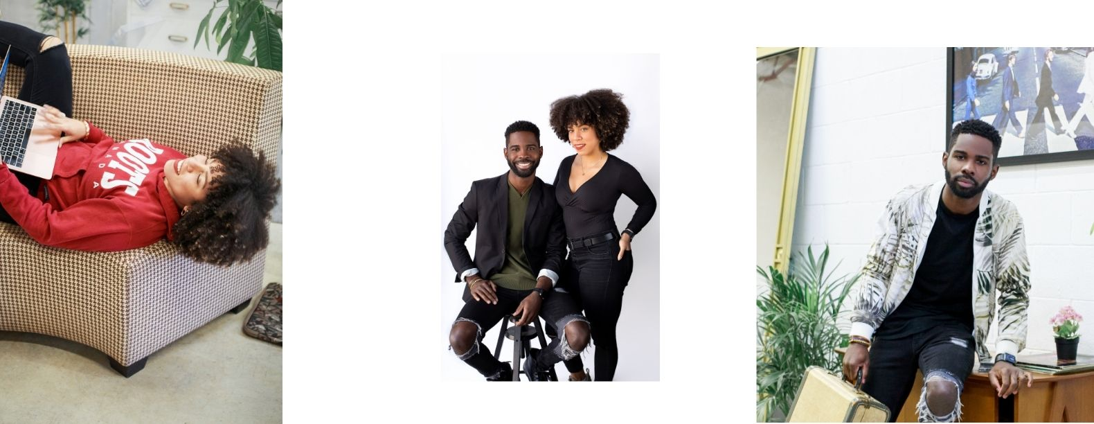 Natasha Sheppard and Sanjay Pinnock — Updated lifestyle photos