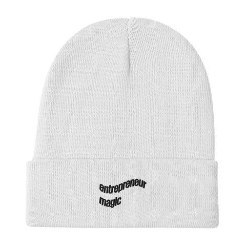 entrepreneur magic — Embroidered Beanie