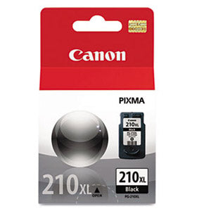 Canon Genuine OEM 2973B001 PG-210XL (PG210XL) High Yield Black Inkjet Cartridge (401 YLD)