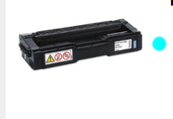 Cyan Toner Compatible For Ricoh SP C250DN, Ricoh SP C250SF, Ricoh SP C261SF