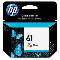 HP Genuine OEM CH562WN (HP61) HP 61 Tri-Color InkJet Cartridge (165 YLD)