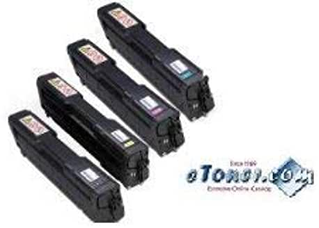 Set of Black Cyan Magenta Yellow Compatible Toner For Ricoh SP C250DN Ricoh SP C250SF Ricoh SP C261SF Toner (40739, 407540, 407541. 407542)