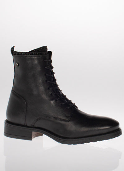 Roxanne Black Biker Boot