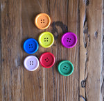 Wooden buttons - pack of 20