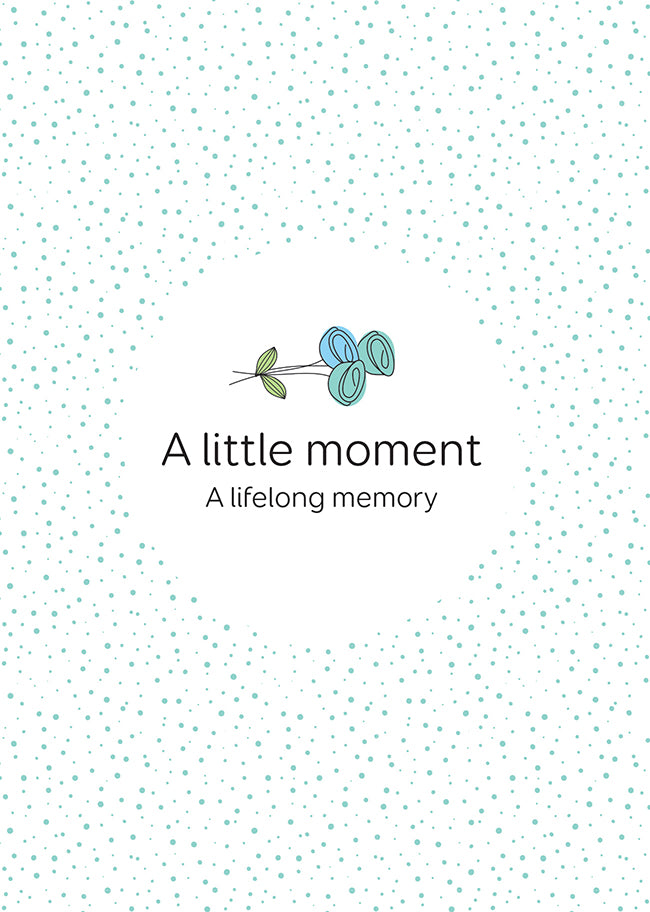 A Little Moment notebook