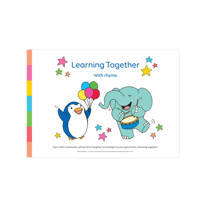 Learning Together with rhyme pad
