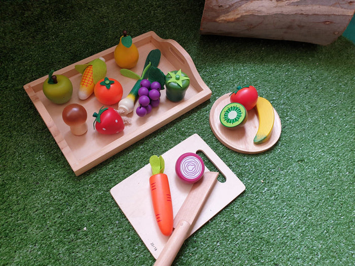 Wooden Fruit - 7 pieces