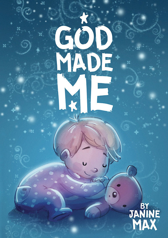 God Made Me Book & CD Pack