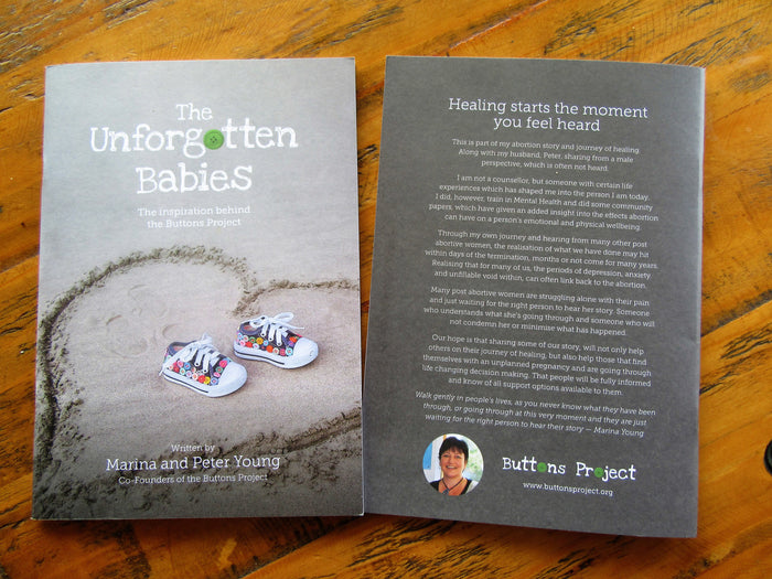 The Unforgotten Babies booklet
