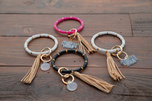 Load image into Gallery viewer, Boho Bead Bangle Key Chain