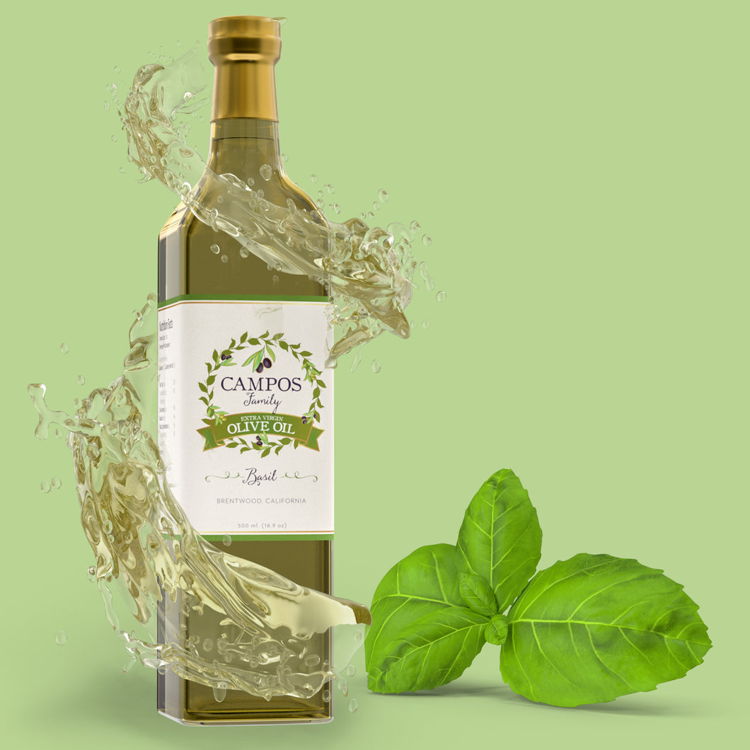 Basil - Extra Virgin Olive Oil