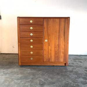 Mid Century Modern Teak Gentleman's Chest by D-Scan