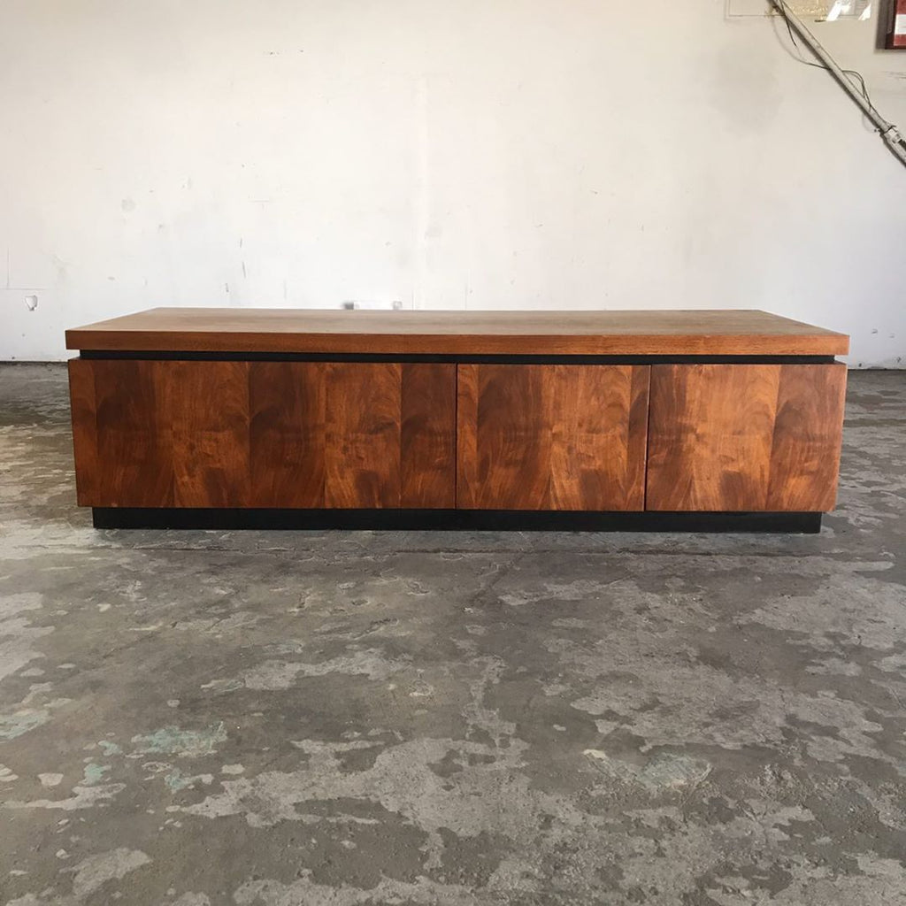 Mid Century Modern Walnut Cocktail Table by Dillingham