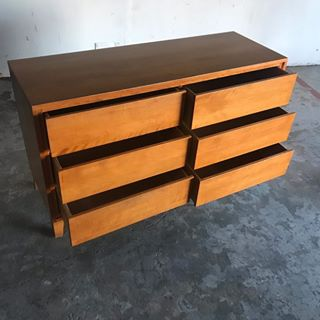 Mid Century Modern Dresser by Leslie Diamond for Conant Ball