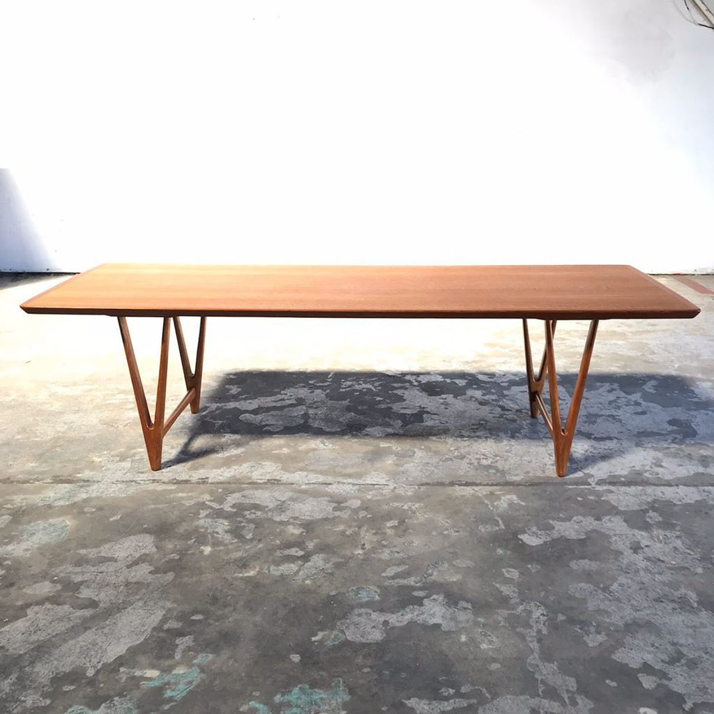 Mid Century Modern Teak Coffee Table by Kurt Østervig