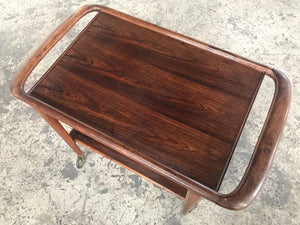 Mid Century Modern Rosewood Trolley 46 by Niels Otto Moller for JL Mollers