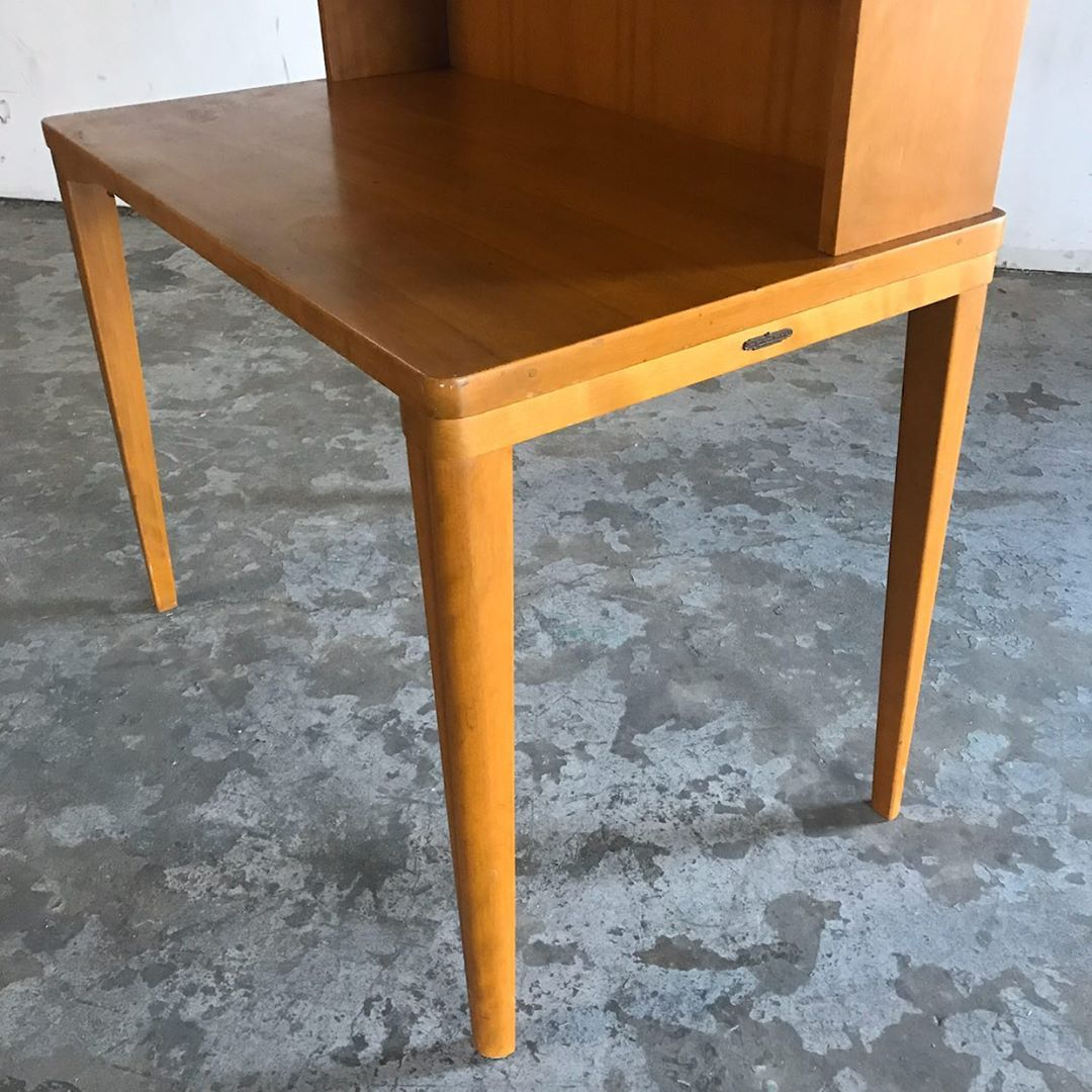 Vintage Library Desk by Remington Rand