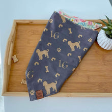 Load image into Gallery viewer, Luxury Goldendoodle Dog Bandana