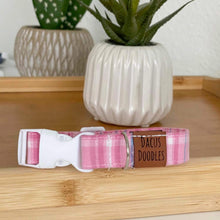 Load image into Gallery viewer, Pink Plaid Collar