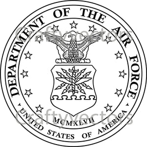 Air Force Seal Vector File