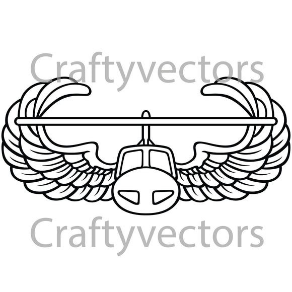 Army Air Assault Vector File
