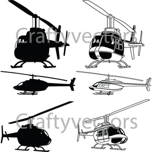 Bell TH-57C Vector File