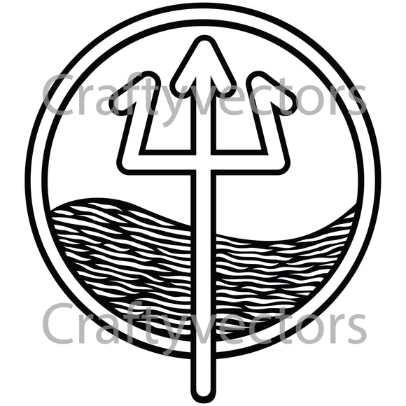 Coast Guard Marine Safety Specialist Badge Vector File