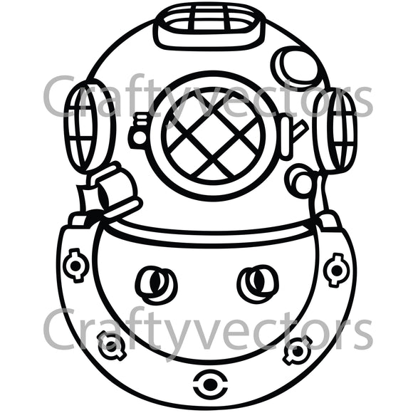 Second Class Diver Insignia Vector File