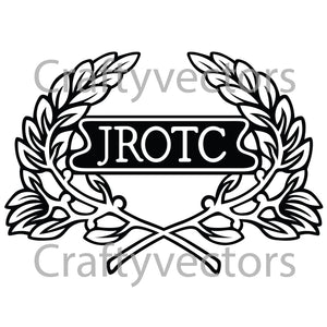 JROTC Cap Badge Vector File