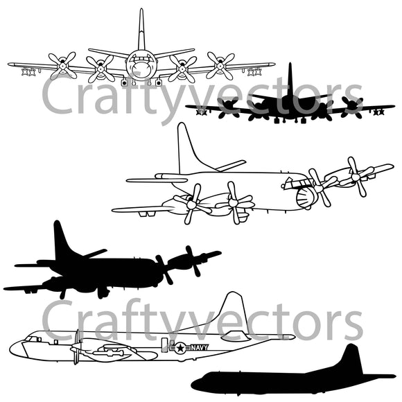 Lockheed P-3 Orion Vector File