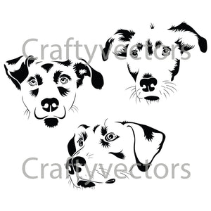 Mutt Dog Vector