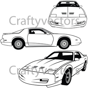 Pontiac Trans Am 1991 GTA Vector