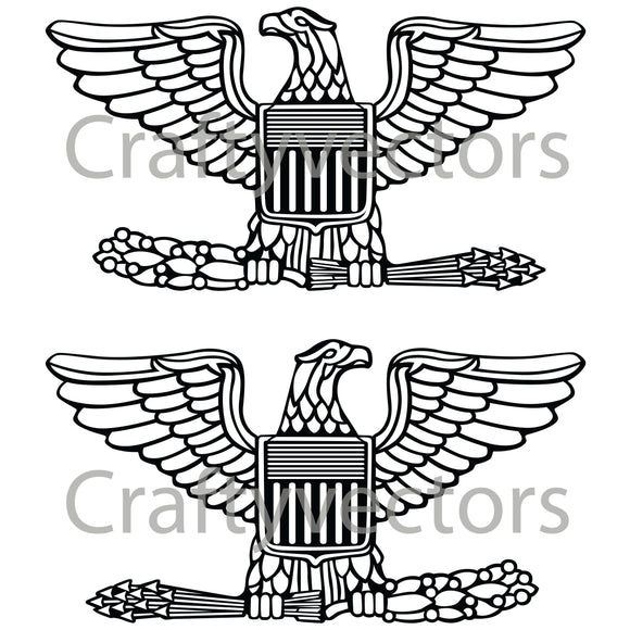 Colonel Insignia Vector File