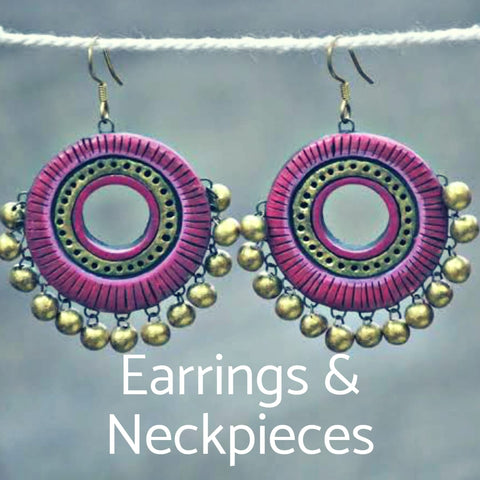 Earrings & Neck Pieces