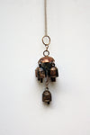 home decor - copper bell - five bell jhoomar & windchime