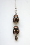 home decor - copper bell - nine bell jhoomar & windchime