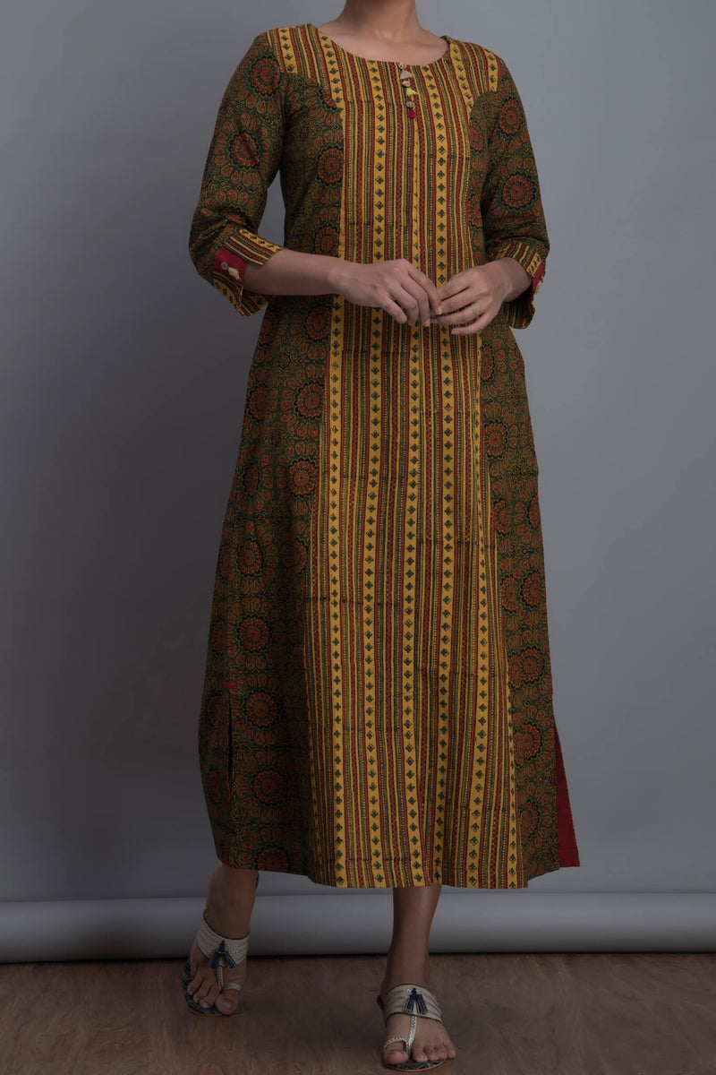 mini tassel kurta - pop & panna