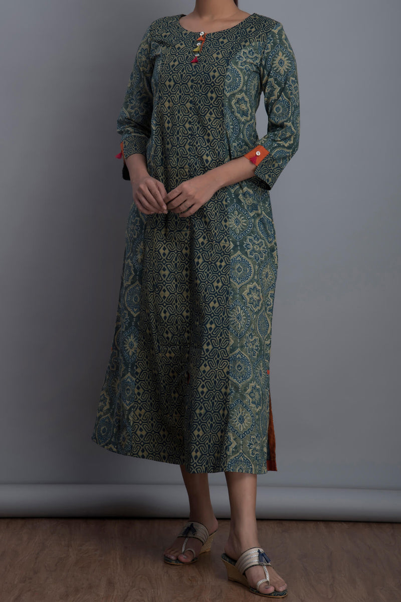 mini tassel kurta - pop & neeli titli