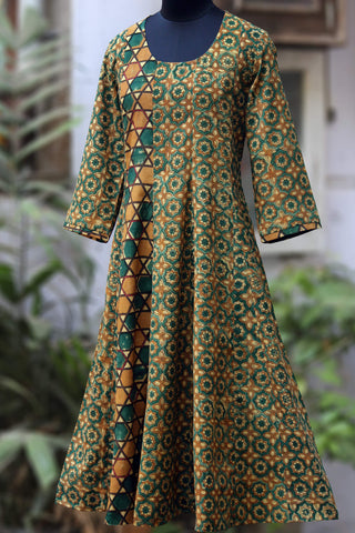 midi kalidhar dress - symphony & sitara