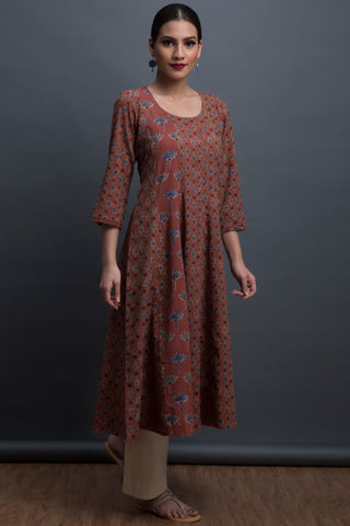 midi kalidhar dress - terra & tranquil