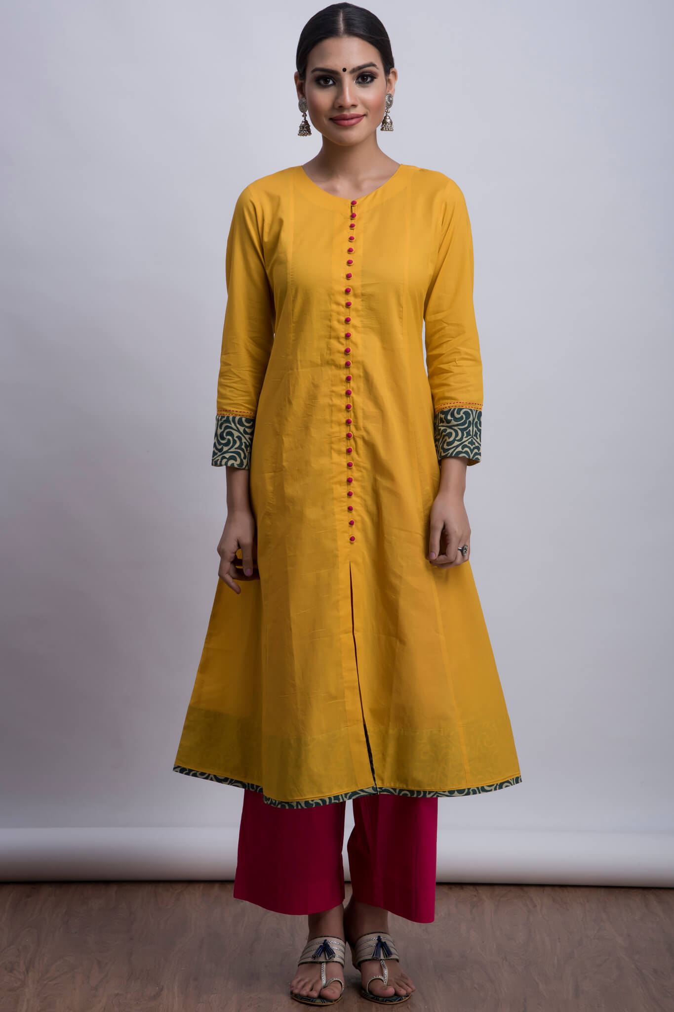 pop potli anarkali - radiant & rose