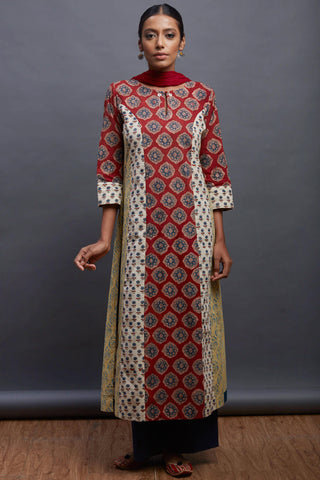 long kurta - vintage & etheral