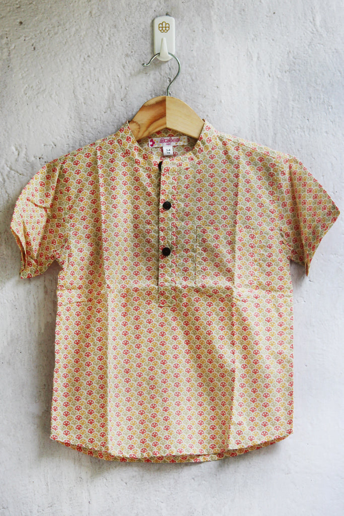 kidswear - multicolored boys shirt