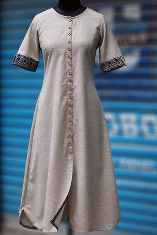 shirt dress - mini chex & minarets