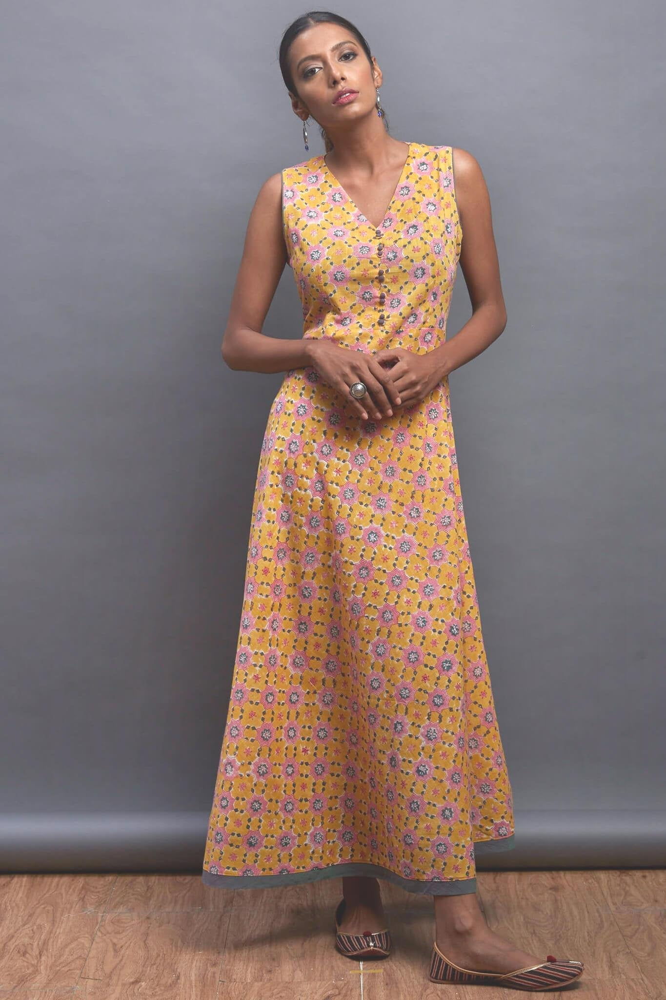 sleeveless summer dress - sunkiss & the tuberose