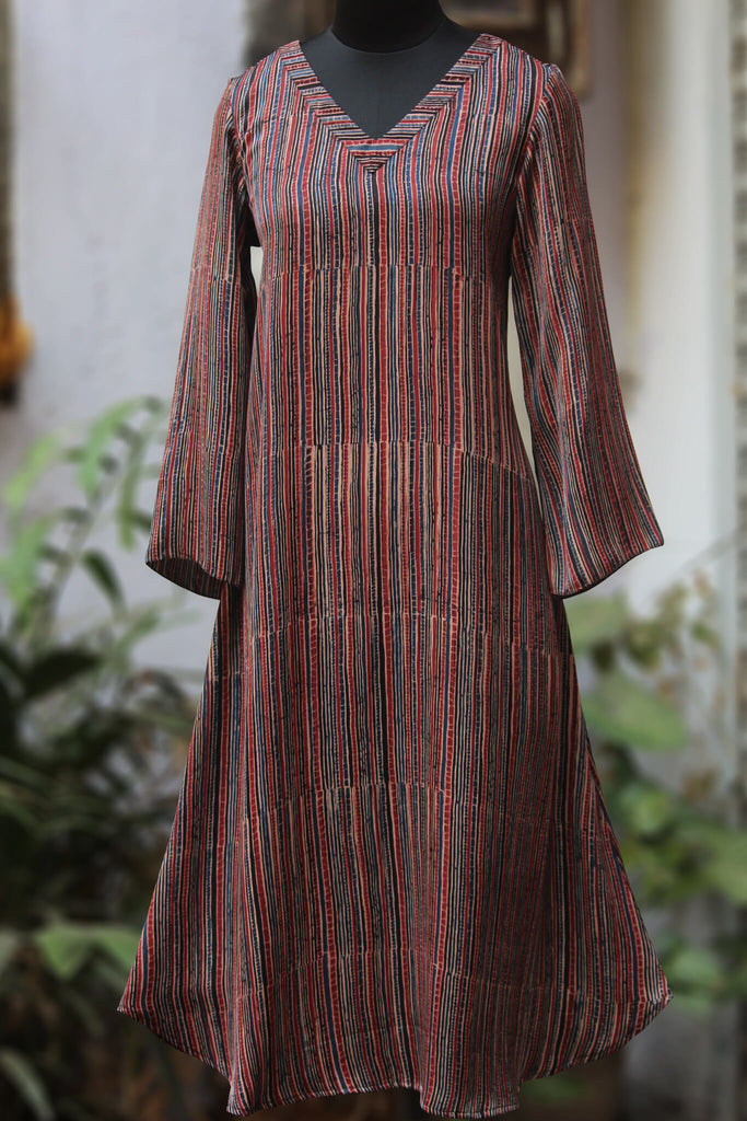 midi dress with dori - poet & his quill