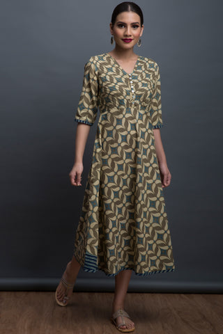 swirl midi dress - willow & the window