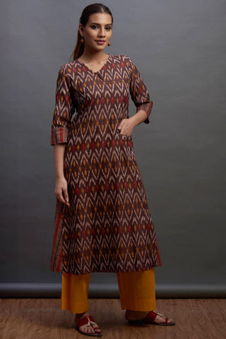 a-line anarkali - cocoa & the hills