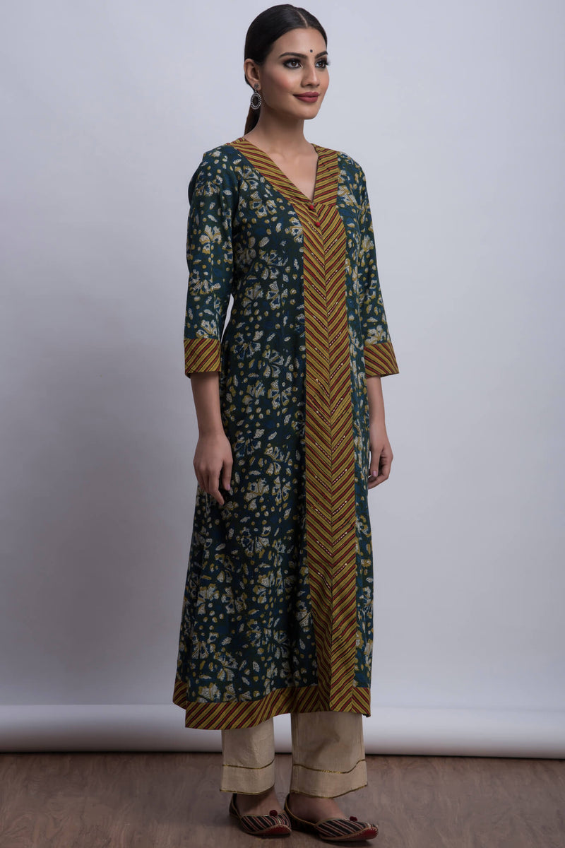long kurta - cassia & the stairway